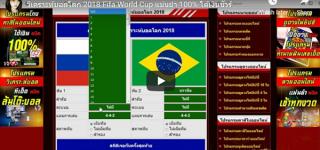รับโปรแกรมวิเคราะห์บอลโลก 2018 ไปใช้งานฟรี
