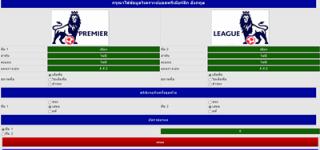 โปรแกรมวิเคราะห์บอลพรีเมียร์ลีก อังกฤษ เวอร์ชั่นเต็มจาก casinobet168.com
